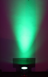 Venue Uplighting - Multi Colour - Green