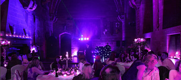 Venue Uplighting - Wide Slider - 1