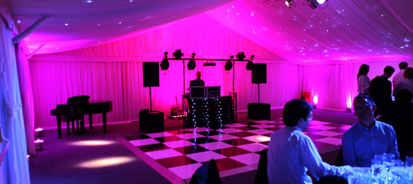 Venue Uplighting - Wide Slider - 7