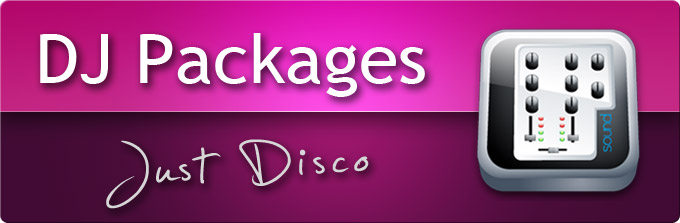 DJ Packages - Just Disco